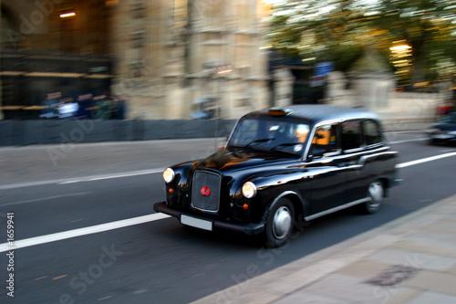 Obraz na płótnie london taxi