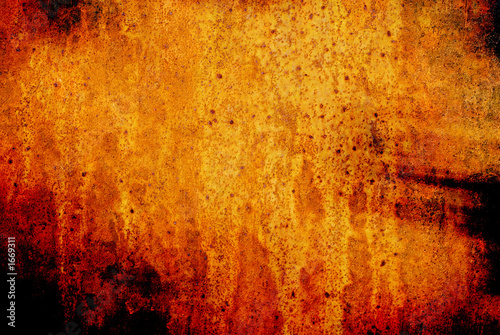 scary textured grunge image Wallpaper Mural