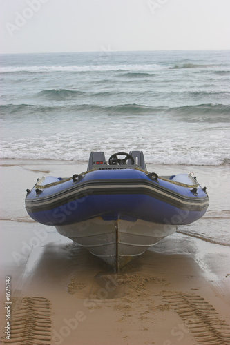 inflatable front view