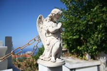 Stone Angel Statue