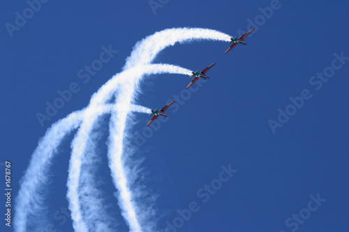 Fototapeta  aerobatic display