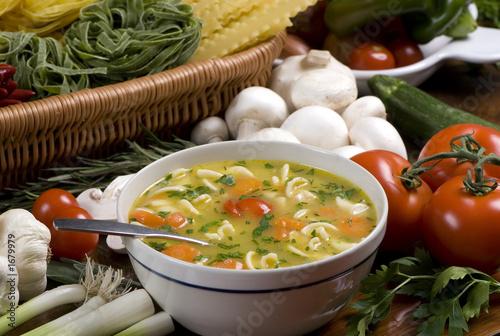Fotografie, Obraz  fresh soup 1