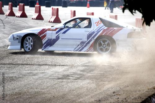 Deurstickers Snelle auto s drift racing