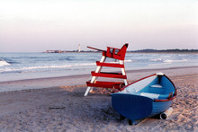 Lifeguard Chair And Lighthouse