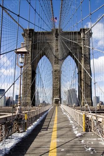 Fototapeta pont de brooklin à new york