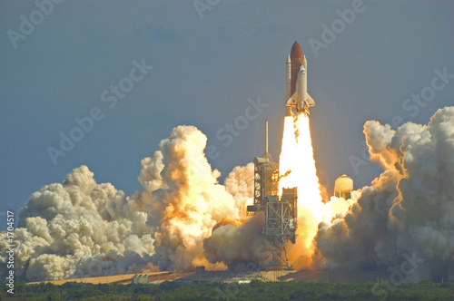 Staande foto Nasa space shuttle