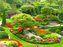 Sunken Gardens, Butchart Gardens