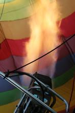 Hot Air Balloon Preparation