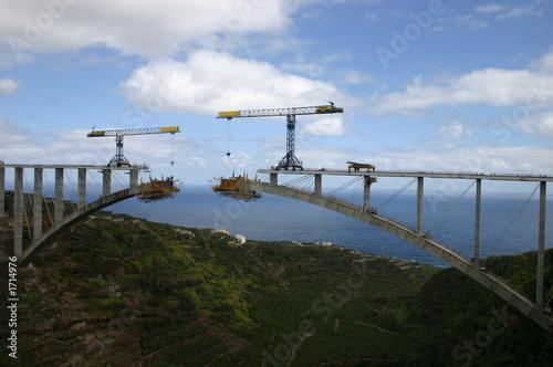 Brückenbau auf La Palma