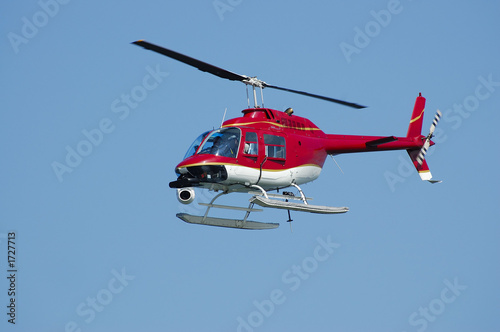 Tuinposter Helicopter eye in the sky