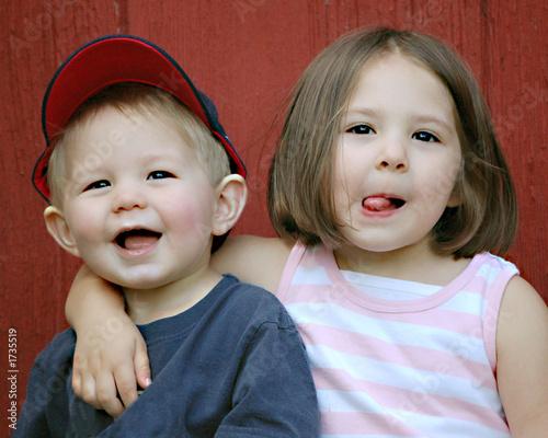 Fotografie, Obraz siblings