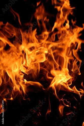 Poster Flamme fire