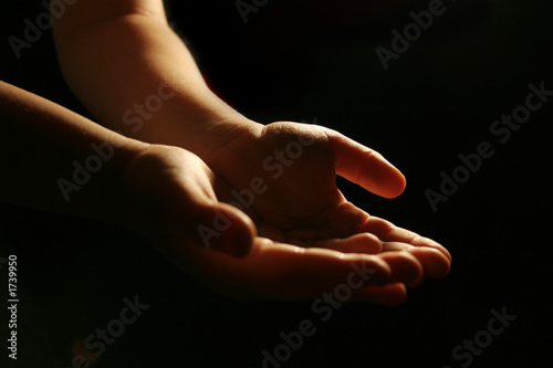Photo  worshiping hands