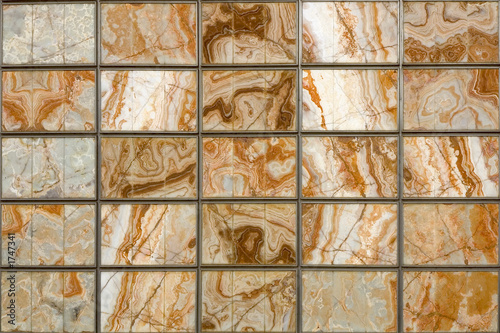 squared marble wall Wallpaper Mural