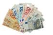 canvas print picture - euro
