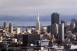 Leinwandbild Motiv skyline san francisco, california, usa