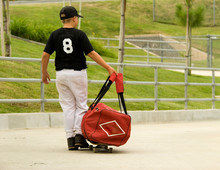 Going To Baseball Practice