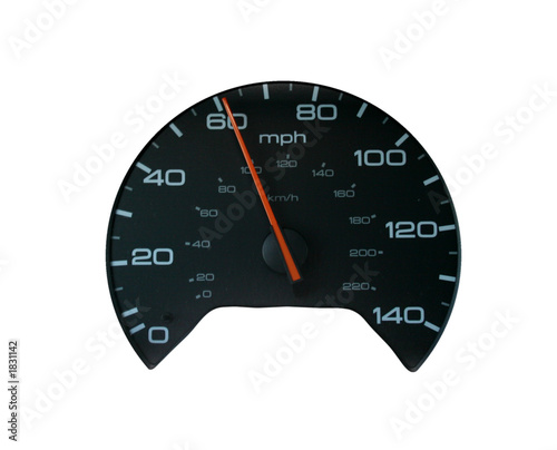 100 Kph To Mph >> Speedometer At 60 Mph 100 Kph On White Buy This Stock