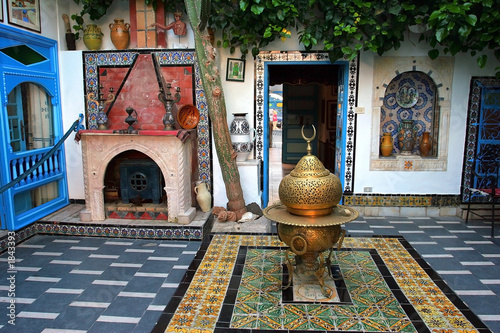 Obraz na plátně  traditional tunisian house