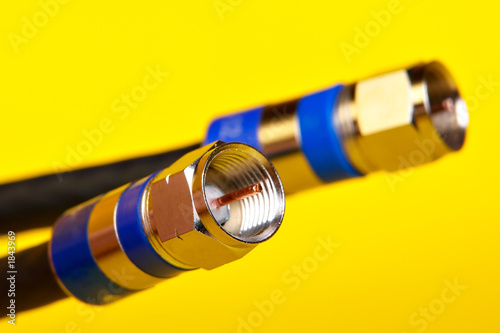 Fotomural coax cables