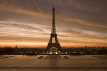 Eiffel At Dawn