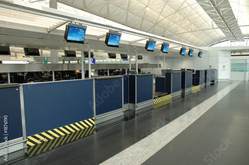 Foto op Aluminium Luchthaven check-in counters