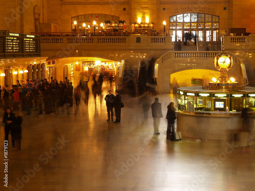 grand central station in new york #3 Canvas Print