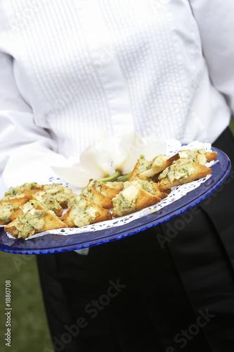 Fotografie, Obraz  wedding appetizers
