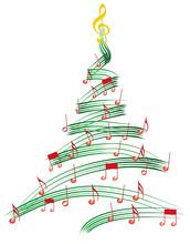 Musicl Christmas Tree