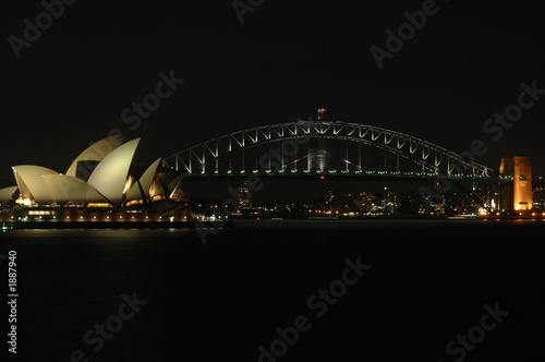 Poster Australie sydney harbour bridge