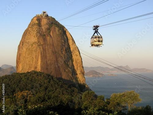 Deurstickers Rio de Janeiro sugar loaf - 1