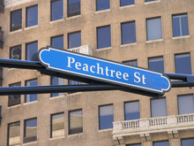 Peachtree Street Sign
