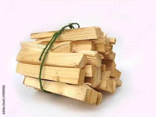 Stampa su Tela kindling wood