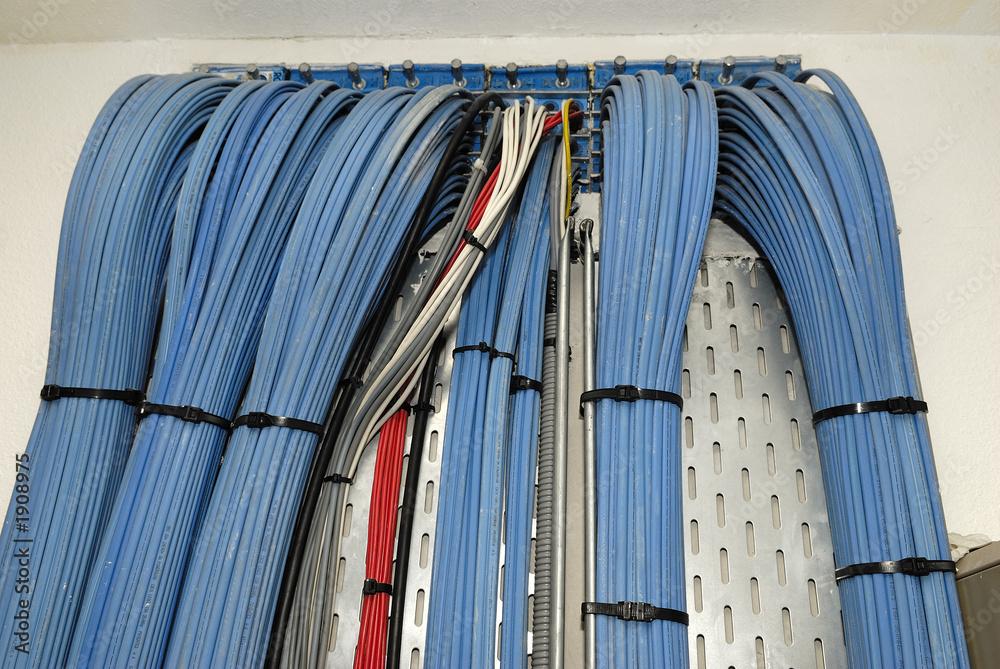 Photo  chemin de cable