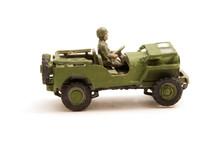 Model Wartime Jeep