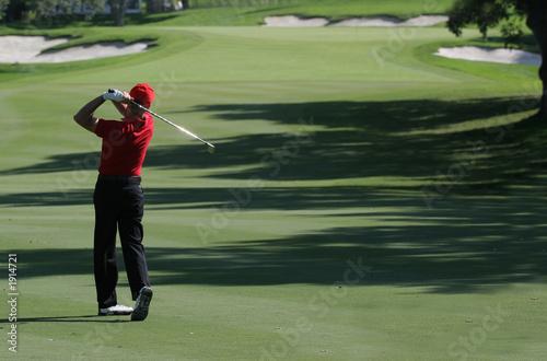 Poster Golf golf swing in valderrama, spain