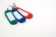 Three Blank Key Tags