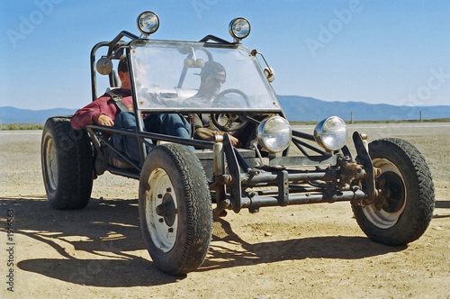 Photo Stands Motor sports dune buggy - sand rail - parked
