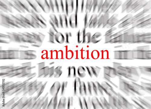 ambition Wallpaper Mural