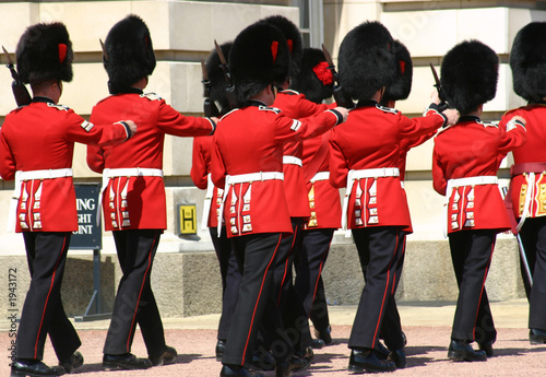 Photo change of the guard, london
