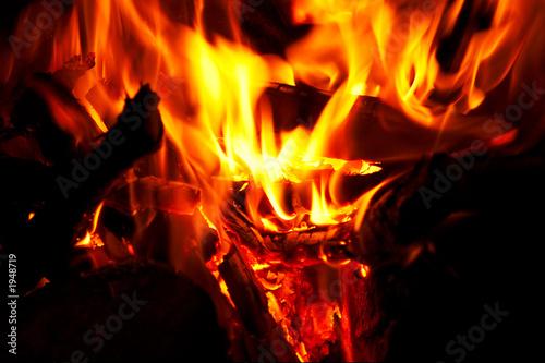 Keuken foto achterwand Vlam fire and flames