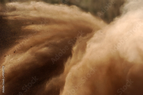 Photo sur Aluminium Motorise rally dust