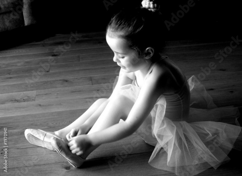 Fotografie, Obraz  ballet preparation