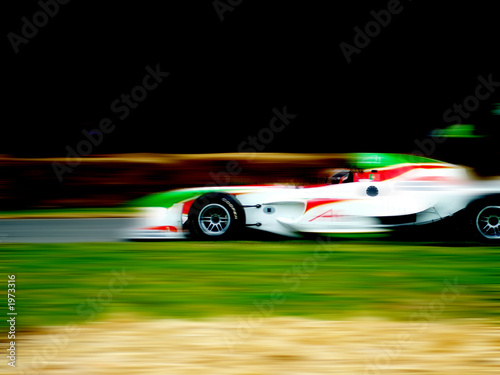 Tuinposter F1 f1 racing car