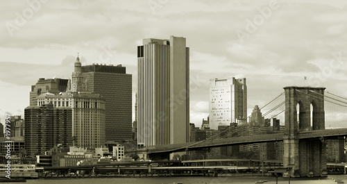 manhattan in sepia #1977957