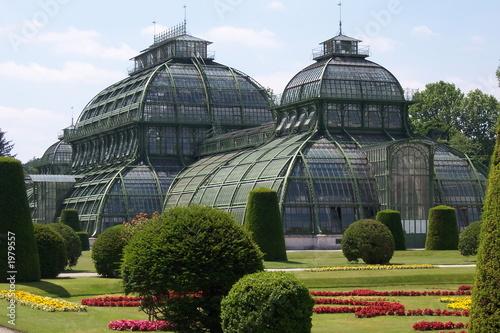 Garden Poster Vienna palmenhaus