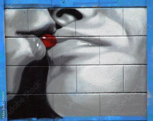 fototapeta na ścianę graffiti liss