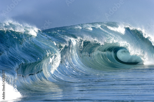 Foto op Canvas Water perfect wave