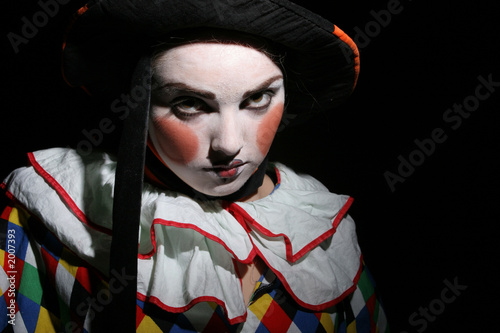 clown Plakat