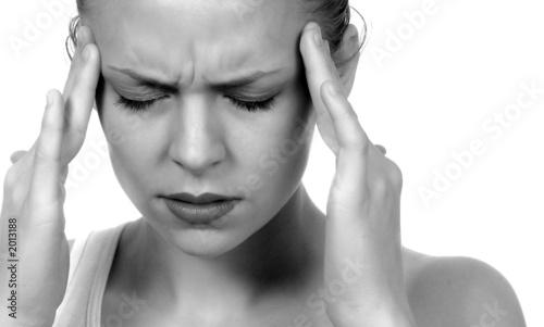 Fotografie, Obraz  migraine  headache